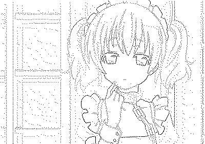 髏々宮カルタ(メイド服)