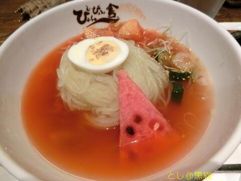 ぴょんぴょん舎 盛岡冷麺(特辛)とミニ・チヂミセット