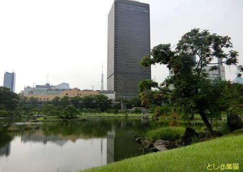 竹芝客船ターミナル、旧芝離宮恩賜庭園でGO