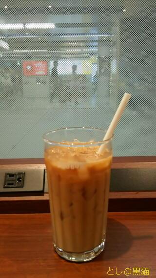 みなとみらい駅ドトールで、アイスコーヒー(S)