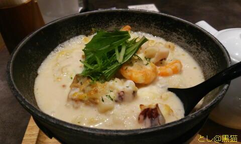 神戸元町ドリア 海老とやりいかのチャウダー風スープドリアっ!