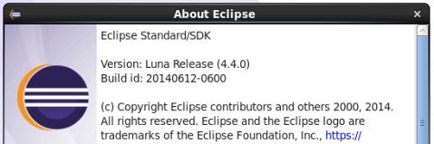 CentOS 6.5にEclipse Luna (4.4)をインストール