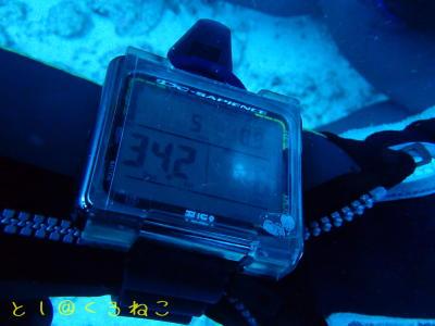 水深-34.2m NDL 8分