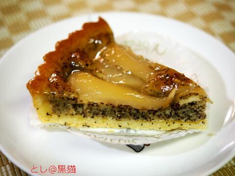 FLO 洋梨と紅茶タルト、ベイクドチーズケーキ
